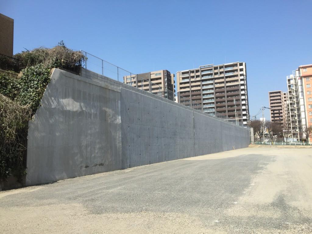 大手町擁壁改良工事